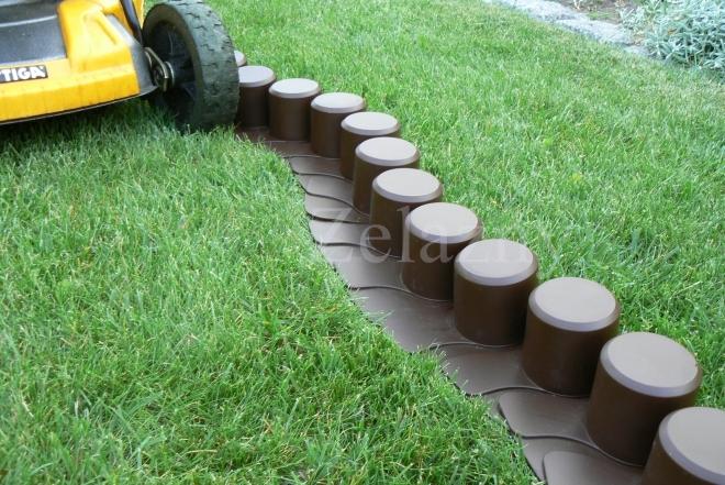 Rasenkante Palisaden Beetumrandung Beeteinfassung 4m Gartenpalisade Erdspieße